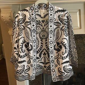 🥰 Chico's Cotton & Silk Ruana